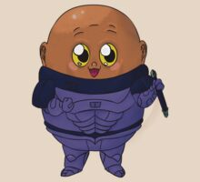 Kawaii Doctor Who Villains: Sontaran by FretfulFanatic