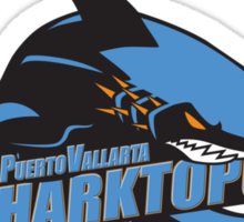 Puerto Vallarta Sharktopuses Sticker