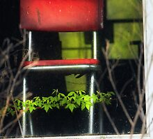 A Little Red Chair Just Behind Glass by Nazareth