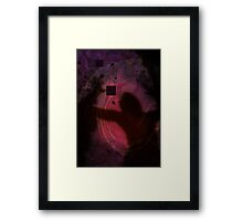 Homie Gets Set to Throw a Hadouken at Me Framed Print