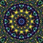 Sierpinski Rainbow by Hugh Fathers