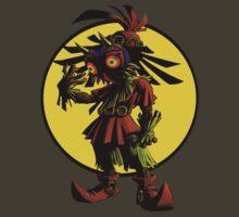 Zelda Majoras Mask Skull Kid  T-Shirt