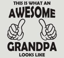 Awesome Grandpa T Shirts, This is what an awesome Grandpa by cerenimo