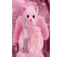 ☀ ツHUGS AND AFFECTION FROM A BEARY SPECIAL ANGEL IPHONE CASE☀ ツ  by ✿✿ Bonita ✿✿ ђєℓℓσ