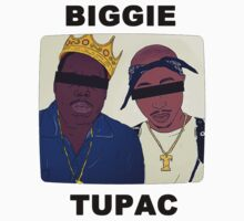 Biggie & Tupac by supremedesigns