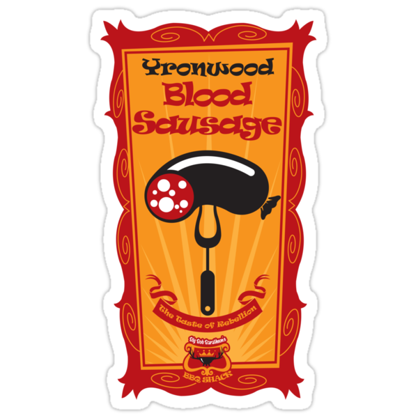 Big Bob's BBQ - Yronwood - Blood Sausage by satansbrand