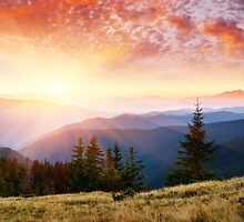 Nature Landscapes Peaceful Mountain 11 by GeekLab