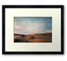 As the Sand Shifts So Do I Framed Print