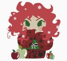 Apple Kokeshi Doll Kids Clothes