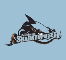 Puerto Vallarta Sharktopuses - Shirt Color Variant by BabyJesus
