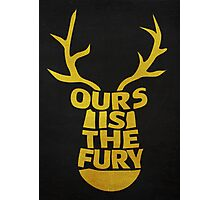 House Baratheon, Ours Is The Fury 2 Photographic Print