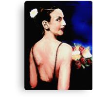 The Vampire Bride:  Canvas Print