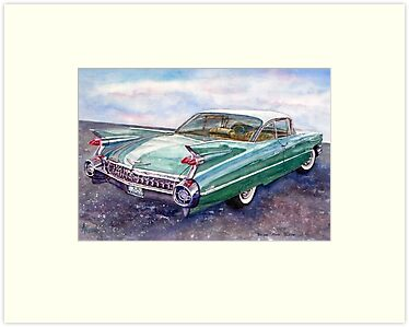 Cadillac Cruising by BAR-ART