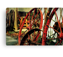 Wagon Wheels of Monterey Canvas Print