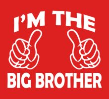 I'm the big brother t shirts by cerenimo