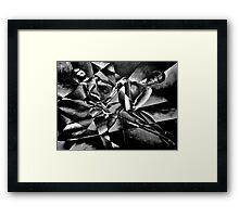 The Models: Black and white Framed Print