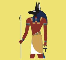 Anubis in Ancient Egypt by brunosprak