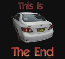 This Is The End (AR.53.ND) T-shirt Design by muz2142