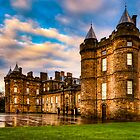 Deceptive Beauty - Holyrood Palace in Edinburgh by Mark Tisdale