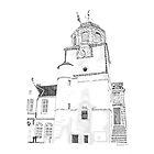 Tollbooth on Dysart High Street. Kingdom of Fife, Scotland by Grant Wilson