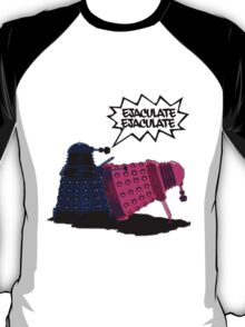 Funny,rude Dr Who and the Daleks T-Shirt