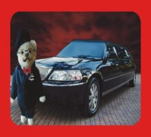 Teddy Bear Limousine Chauffeur Kids (CHILDRENS) Tee Shirt by ✿✿ Bonita ✿✿ ђєℓℓσ