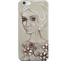 Flowers I Keep iPhone Case/Skin