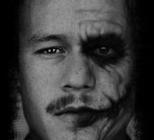Heath Ledger by HellFury