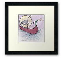 Raven Flight Framed Print