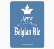 Game of Thrones House Arryn Beer T-Shirt by wasdstomp