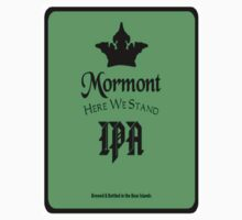 Game of Thrones House Mormont Beer T-Shirt by wasdstomp