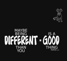 Different = Good by Laura Toth