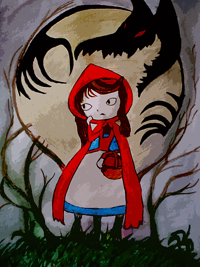 Red Riding Hood by UisceBheatha