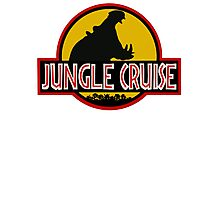Jungle Cruise Park (WITH TEXT) Photographic Print