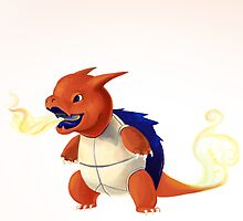 Fire Wartortle by Ashley Dadoun