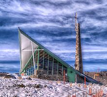 Snowtime Religion - Perisher Valley, NSW - The HDR Experience by Philip Johnson
