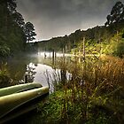 Lake Elizabeth, Victoria, Australia by Julie Begg