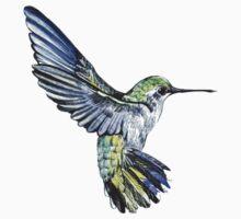 Hummingbird by Anna  Yudina