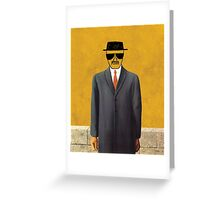 Magritte - Son of Man Parody Greeting Card
