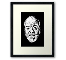 Bill F'N Murray Framed Print