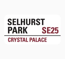Selhurst Park Sign by StreetsofLondon