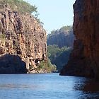 Katherine Gorge # 2 by Virginia  McGowan