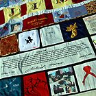 AIDS Quilt - 1 by Cora Wandel