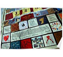 AIDS Quilt - 1 Poster