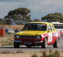 Oz Gymkhana #39 Ford Escort by Stuart Daddow Photography