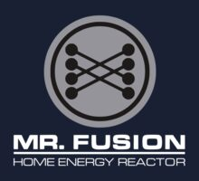 Mr Fusion Back to the Future by logo-tshirt