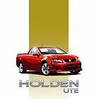 HOLDEN UTE by COLIN TRESADERN