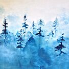 Blue Woods by Sophie Green