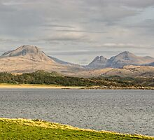 Baosbheinn and Beinn Alligin by VoluntaryRanger