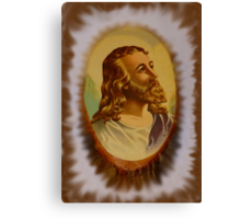 Jesus From An Estate Sale Canvas Print